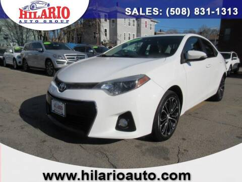 2014 Toyota Corolla for sale at Hilario's Auto Sales in Worcester MA
