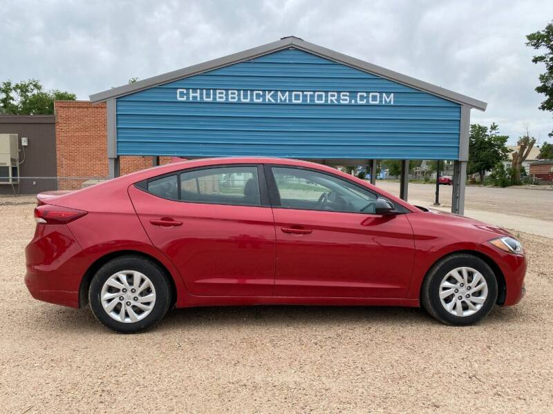 2017 Hyundai Elantra for sale at Chubbuck Motor Co in Ordway CO