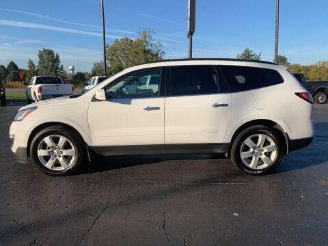 2017 Chevrolet Traverse for sale at Hawkins Motors Sales in Hillsdale MI