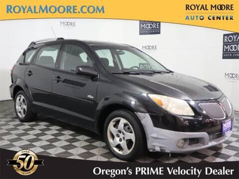 2005 Pontiac Vibe for sale at Royal Moore Custom Finance in Hillsboro OR