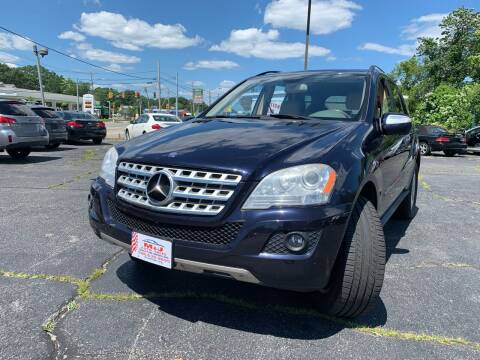 2010 Mercedes-Benz M-Class for sale at M & J Auto Sales in Attleboro MA