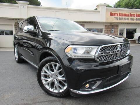 2015 Dodge Durango for sale at North Georgia Auto Brokers in Snellville GA