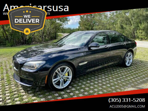 2011 BMW 7 Series for sale at Americarsusa in Hollywood FL