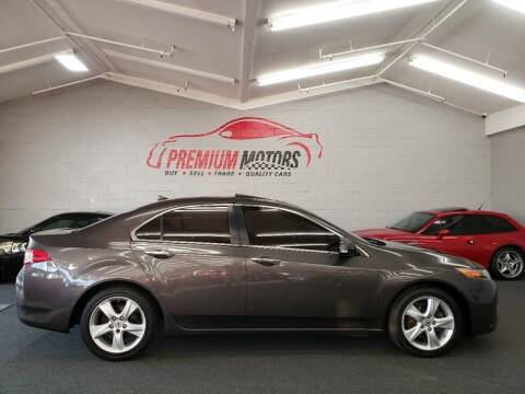2009 Acura TSX for sale at Premium Motors in Villa Park IL