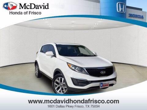 2014 Kia Sportage for sale at DAVID McDAVID HONDA OF IRVING in Irving TX