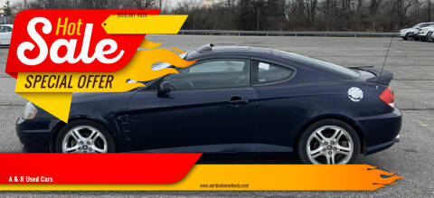 2005 Hyundai Tiburon for sale at A & R Used Cars in Clayton NJ