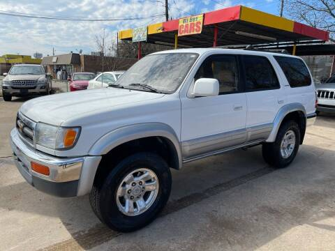 1997 Toyota 4Runner for sale at Texas Select Autos LLC in Mckinney TX