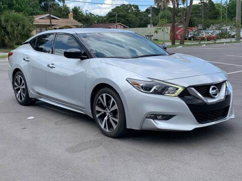 2016 Nissan Maxima for sale at Consumer Auto Credit in Tampa FL