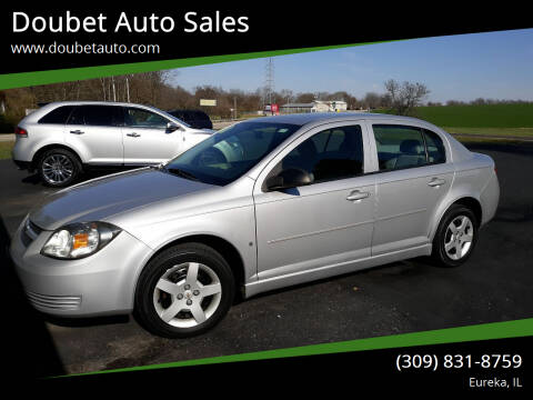 2008 Chevrolet Cobalt for sale at Doubet Auto Sales in Eureka IL