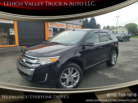 2012 Ford Edge for sale at Lehigh Valley Truck n Auto LLC. in Schnecksville PA