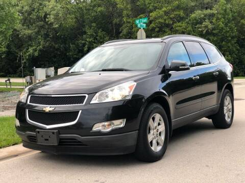 2011 Chevrolet Traverse for sale at L G AUTO SALES in Boynton Beach FL