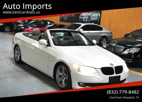 2011 BMW 3 Series for sale at Auto Imports in Houston TX
