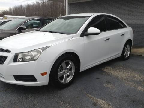 2011 Chevrolet Cruze for sale at Darryl's Trenton Auto Sales in Trenton TN