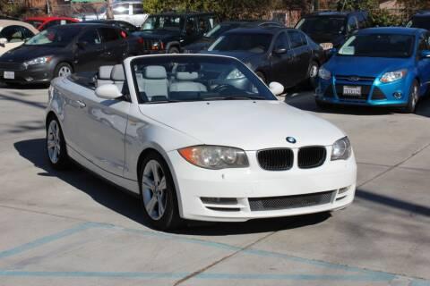 2008 BMW 1 Series for sale at Car 1234 inc in El Cajon CA