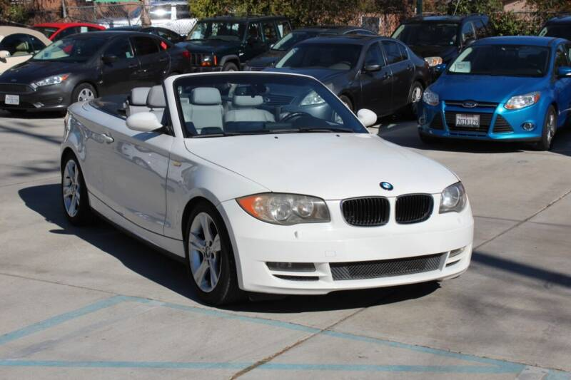 2008 BMW 1 Series for sale at Car 1234 inc in El Cajon CA