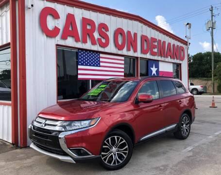 2016 Mitsubishi Outlander for sale at Cars On Demand 2 in Pasadena TX