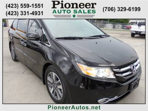 2014 Honda Odyssey for sale at PIONEER AUTO SALES LLC in Cleveland TN