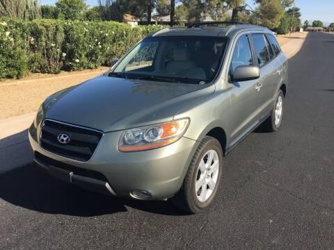 2009 Hyundai Santa Fe for sale at FAMILY AUTO SALES in Sun City AZ