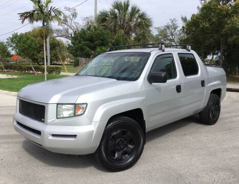 2006 Honda Ridgeline for sale at FIRST FLORIDA MOTOR SPORTS in Pompano Beach FL
