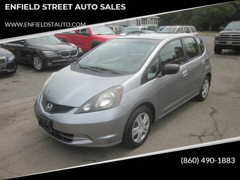 2009 Honda Fit for sale at ENFIELD STREET AUTO SALES in Enfield CT