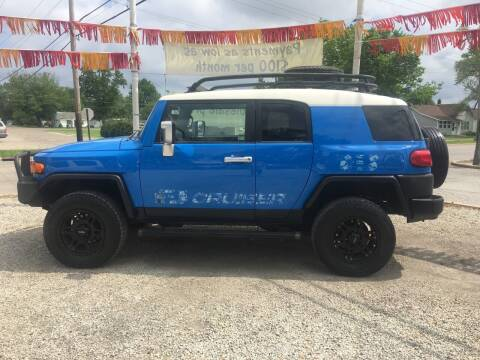 2007 Toyota FJ Cruiser for sale at Antique Motors in Plymouth IN