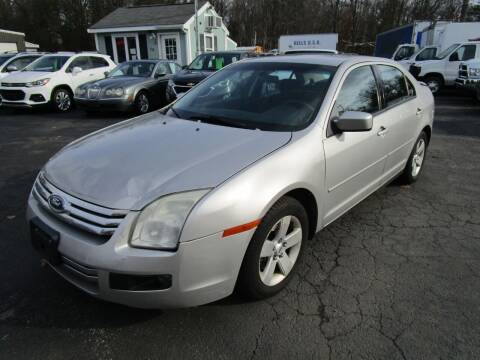 2007 Ford Fusion for sale at Route 12 Auto Sales in Leominster MA