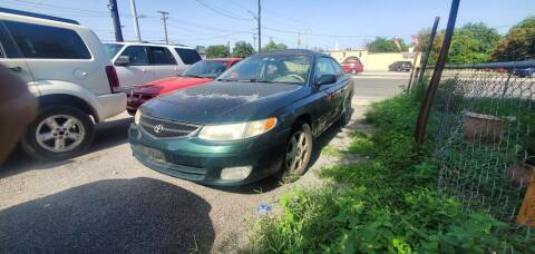 2001 Toyota Camry Solara for sale at C.J. AUTO SALES llc. in San Antonio TX