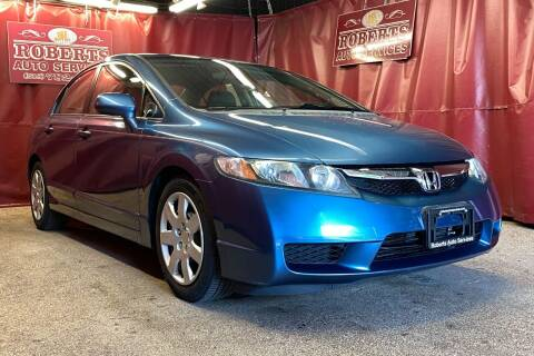 2009 Honda Civic for sale at Roberts Auto Services in Latham NY