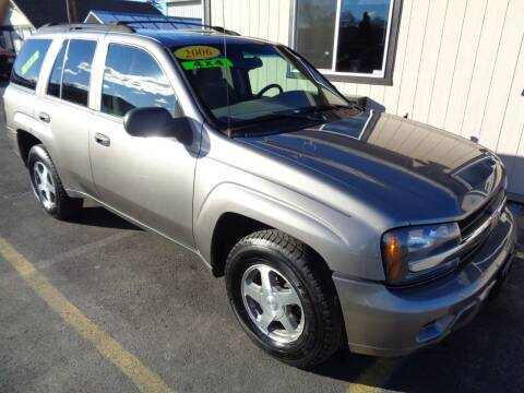 2006 Chevrolet TrailBlazer for sale at BBL Auto Sales in Yakima WA