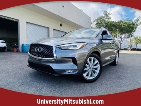 2019 Infiniti QX50 for sale at University Mitsubishi in Davie FL