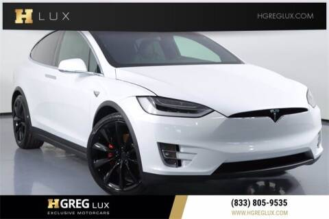 2019 Tesla Model X for sale at HGREG LUX EXCLUSIVE MOTORCARS in Pompano Beach FL
