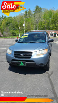 2009 Hyundai Santa Fe for sale at Shamrock Auto Brokers, LLC in Belmont NH
