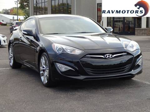 2016 Hyundai Genesis Coupe for sale at RAVMOTORS 2 in Crystal MN