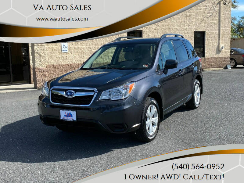 2016 Subaru Forester for sale at Va Auto Sales in Harrisonburg VA