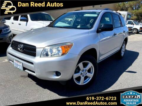 2007 Toyota RAV4 for sale at Dan Reed Autos in Escondido CA
