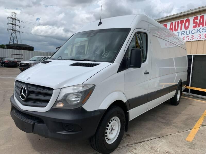 2016 Mercedes-Benz Sprinter Cargo for sale at Market Street Auto Sales INC in Houston TX