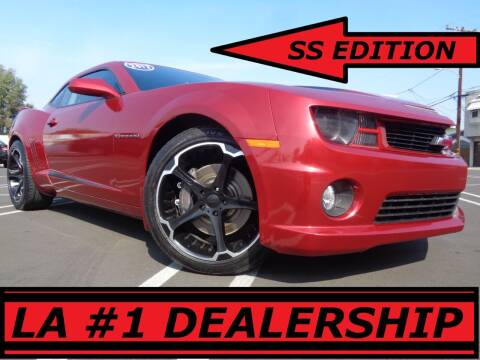 2013 Chevrolet Camaro for sale at ALL STAR TRUCKS INC in Los Angeles CA