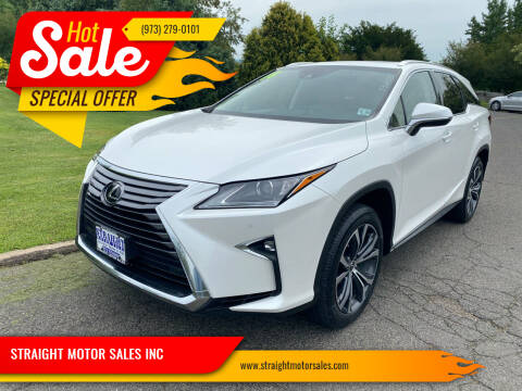 2018 Lexus RX 350L for sale at STRAIGHT MOTOR SALES INC in Paterson NJ