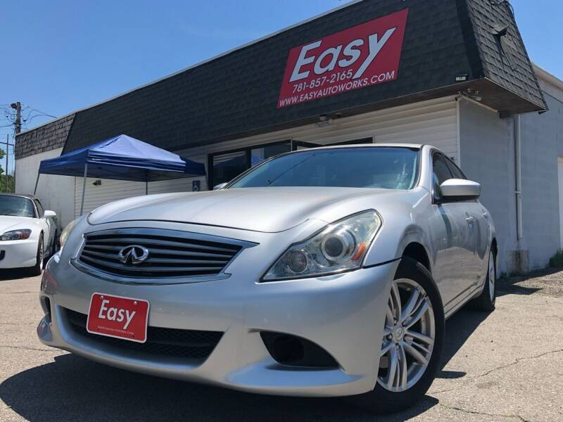 2010 Infiniti G37 Sedan for sale at Easy Autoworks & Sales in Whitman MA