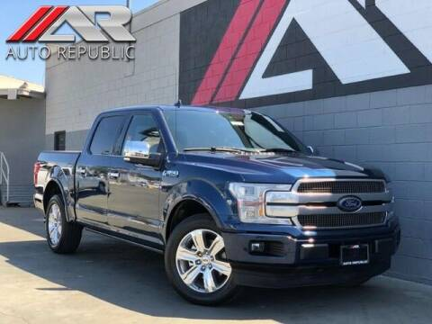 2020 Ford F-150 for sale at Auto Republic Fullerton in Fullerton CA