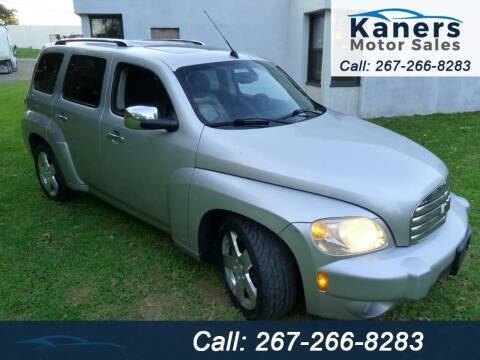 2007 Chevrolet HHR for sale at Kaners Motor Sales in Huntingdon Valley PA