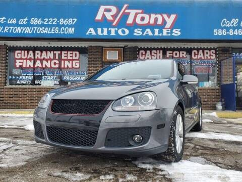 2008 Volkswagen GTI for sale at R Tony Auto Sales in Clinton Township MI