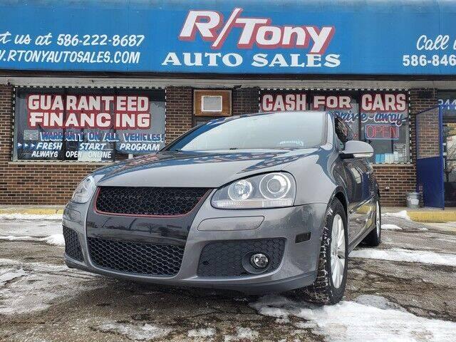 2008 Volkswagen GTI for sale at R Tony Auto Sales in Clinton Township MI