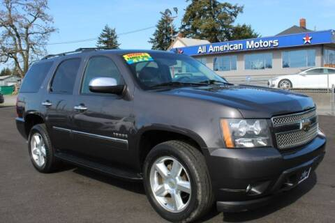 2010 Chevrolet Tahoe for sale at All American Motors in Tacoma WA