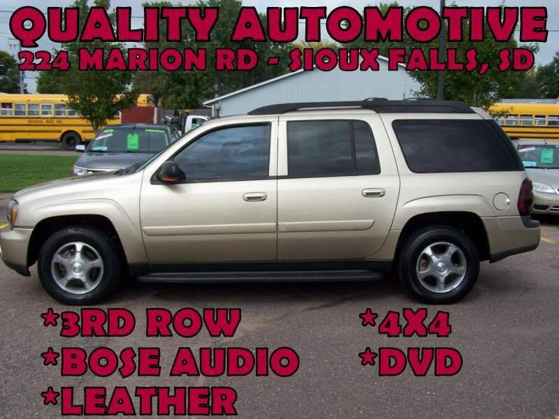 2005 Chevrolet TrailBlazer EXT for sale at Quality Automotive in Sioux Falls SD