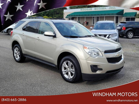 2013 Chevrolet Equinox for sale at Windham Motors in Florence SC
