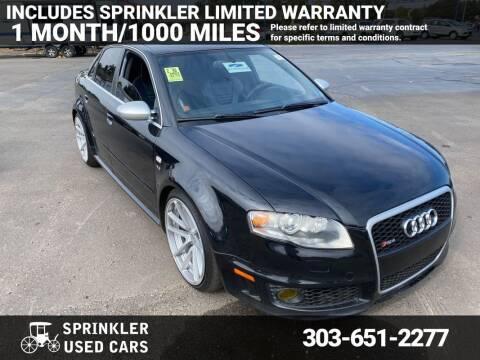 2007 Audi RS 4 for sale at Sprinkler Used Cars in Longmont CO