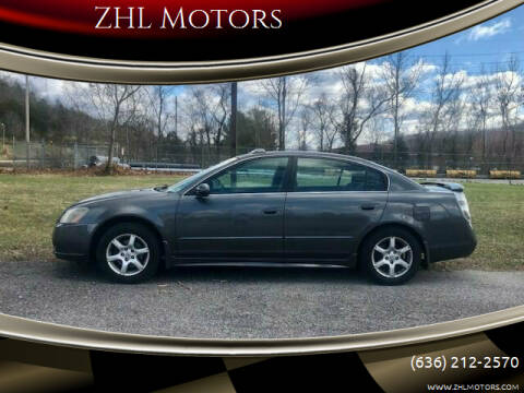2006 Nissan Altima for sale at ZHL Motors in House Springs MO