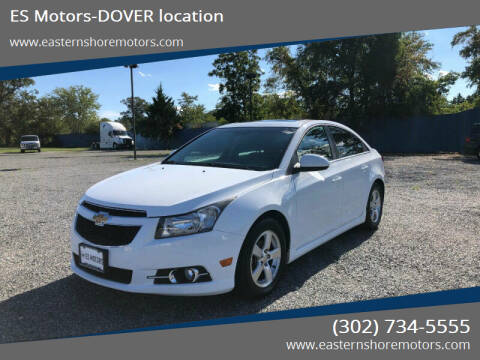 2012 Chevrolet Cruze for sale at ES Motors-DAGSBORO location - Dover in Dover DE