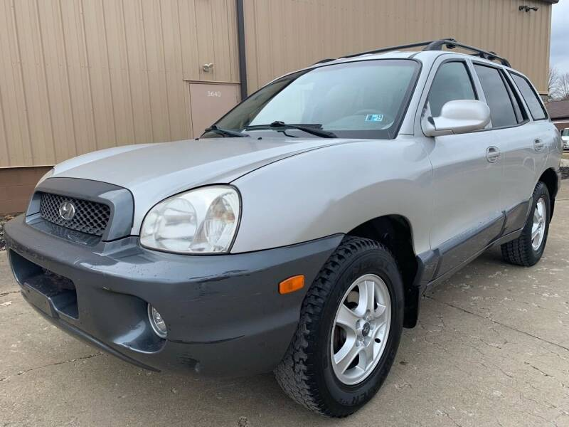 2002 Hyundai Santa Fe for sale at Prime Auto Sales in Uniontown OH